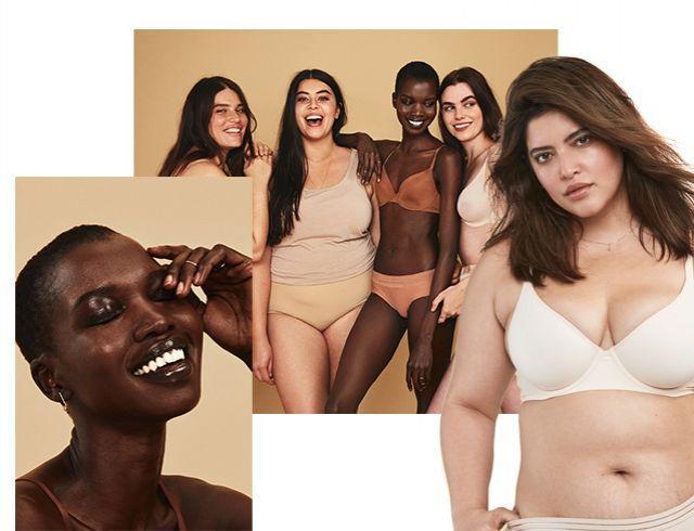 Как разнообразная красота и кожа без фотошопа в рекламе бьюти-бренда становится популярным явлением