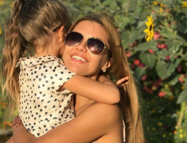 Виктория Боня хвастается талантами дочери