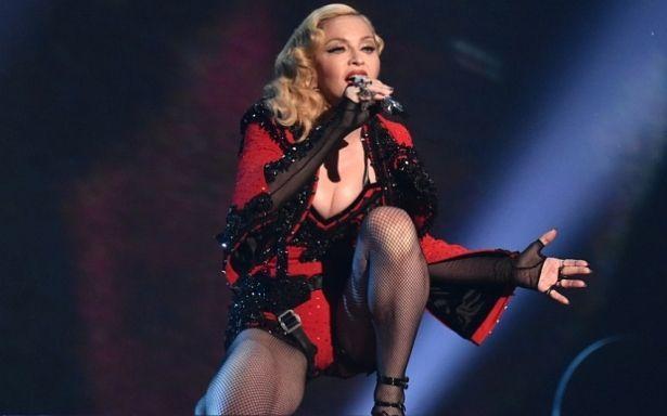 Сексуально! Мадонна продемонстрировала осиную талию в латексном наряде (ФОТО)