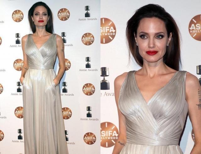 И шикарное платье не спасло: Анджелину Джоли опять раскритиковали за излишнюю худобу