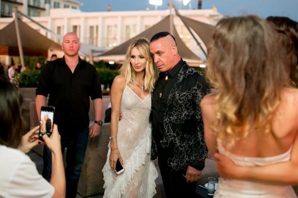 СМИ: LOBODA ждет ребенка от солиста Rammstein Тилля Линдеманна