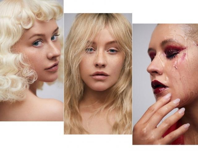 Драматичная Кристина Агилера без макияжа появилась на обложке глянца, восхитив красотой (ФОТО)