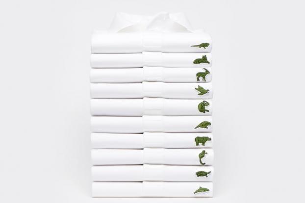 Lacoste поменяли фирменный логотип на изображения исчезающих животных