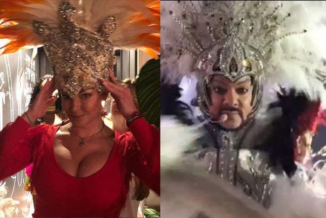 «Чудо в перьях»: танец Волочковой на вечеринке взорвал соцсети