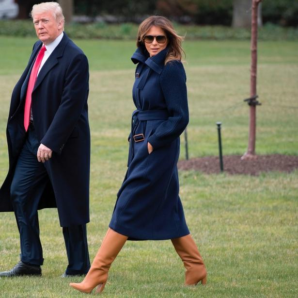 """Стало известно про жизнь Мелании Трамп в Белом доме: """"Они с мужем стали похожи на Кардашьян"""""""