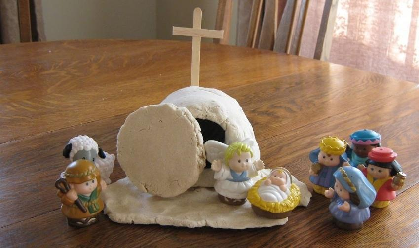 Готовим дом к празднику вместе с детьми: поделки из соленого теста к Пасхе