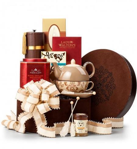 Как выбрать подарочную корзину из чая?