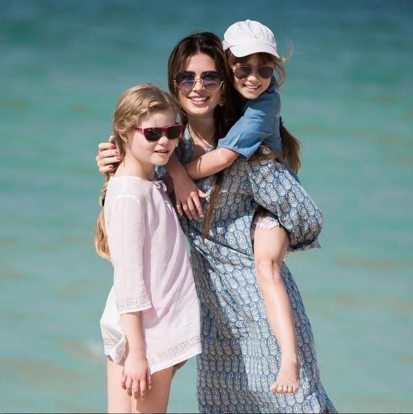 Ольга Ушакова в третий раз стала мамой