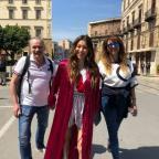 Счастливы вместе: Регина Тодоренко проводит время с родителями в Палермо