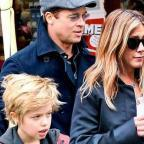 СМИ: Дженнифер Энистон познакомилась с дочерью Брэда Питта (ФОТО)