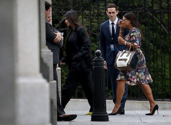 Кардашьян взбодрила Трампа на встрече в Белом Доме