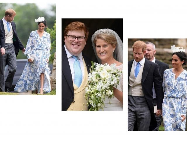 Принц Гарри и Меган Маркл очаровали гостей на свадьбе племянницы принцессы Дианы (ФОТО)