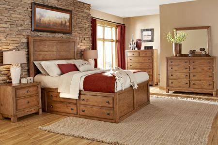 Как выбрать спальный гарнитур из массива?