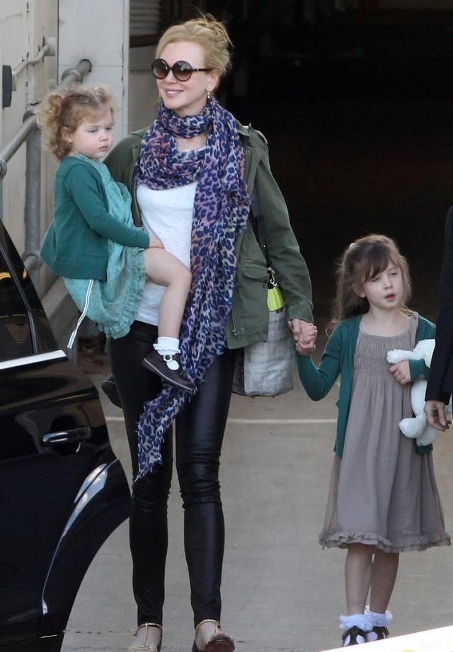 Николь Кидман рассказала, почему ее стыдятся дети