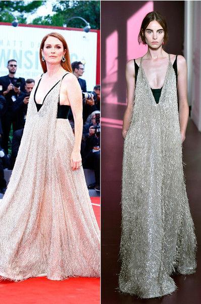 «Синьор Помидор»: Дайнеко примерила странное платье