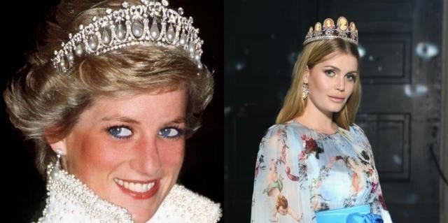 Вдохновение дня: племянница принцессы Дианы Китти Спенсер появилась на вечеринке Dolce & Gabbana
