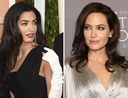 Анджелина Джоли и Амаль Клуни не поделили популярность и друзей