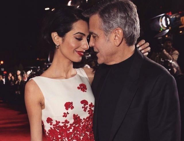 Джордж Клуни рассказал, чем его сердце покорила супруга Амаль