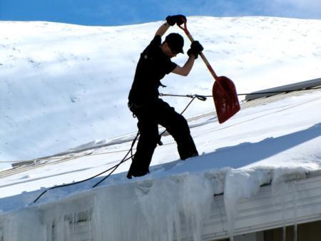 Помощь в уборке снега?