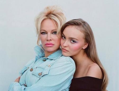 Дочь Джонни Деппа и Памела Андерсон снялись в модной фотосессии (ФОТО)