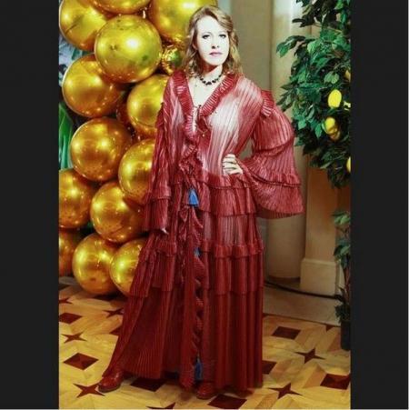 Ксения Собчак надела платье-штору