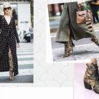 Ретро-геометрия: 6 обувных трендов 2019