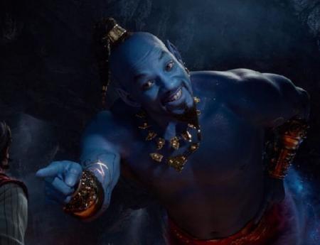 """Уилл Смит в образе Джинна в новом трейлере фильма """"Алладин"""""""