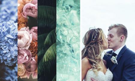 Трендовые свадебные цвета 2019 от экспертов Pantone
