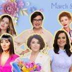 Знаменитые женщины Украины про 8 Марта: как отмечают и о каких подарках мечтают (ЭКСКЛЮЗИВ)