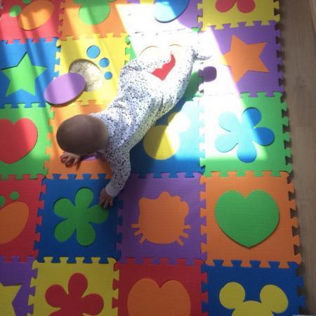 Чем удобны детские коврики пазлы?