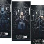 """HBO выпустил 20 новых постеров восьмого сезона """"Игры престолов"""" (ФОТО)"""