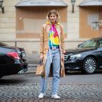 С чем носить джинсы: учимся у героинь стритстайла