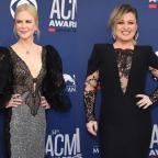 Николь Кидман, Кит Урбан, Келли Кларксон и другие на премии Country Music Awards