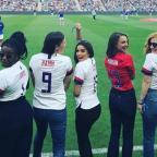Ева Лонгория, Натали Портман и другие на футбольном матче в поддержку Time´s Up (ФОТО)
