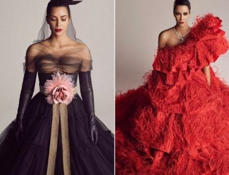 Новый успех: Ким Кардашьян появилась сразу на трех обложках японского Vogue