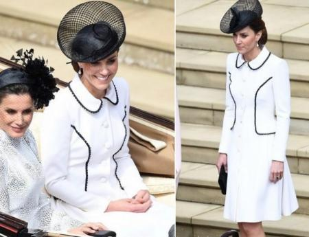 Герцоги Кембриджские посетили церемонию Ордена Подвязки (ФОТО)