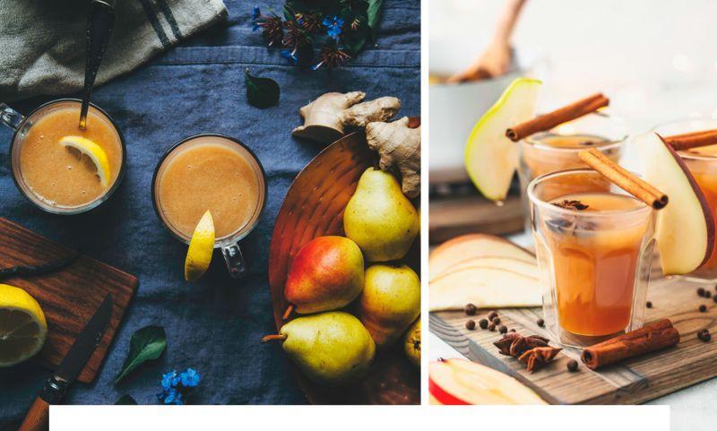 5 рецептов здоровых осенних напитков