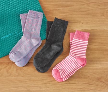 Носки с махровой стопой