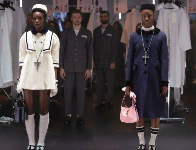 Что скрывается за замочной скважиной: ритуалы, готика и заплаканные глаза в новой коллекции Gucci (ФОТО)