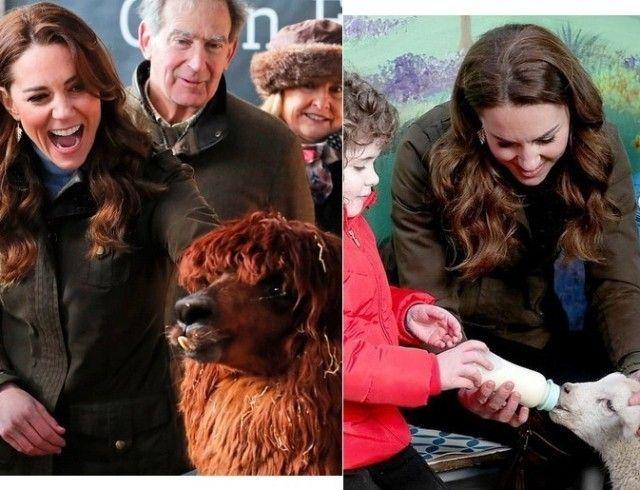 Герцогиня Кембриджская Кейт Миддлтон побывала на ферме The Ark в Северной Ирландии (ФОТО)