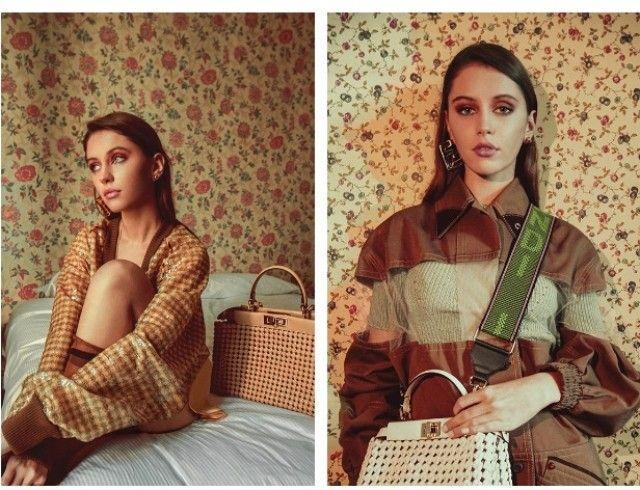 Дочь актера Джуда Лоу стала лицом новой рекламной кампании Fendi (ФОТО)