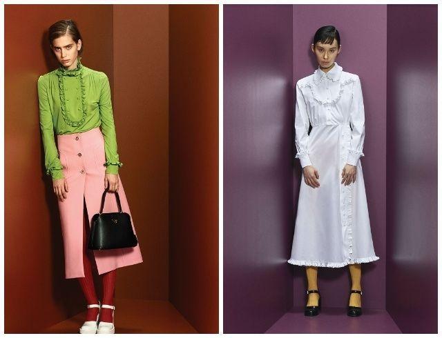 Ярко, строго и элегантно: Prada представили новую коллекцию Pre-Fall —2020 (ФОТО)
