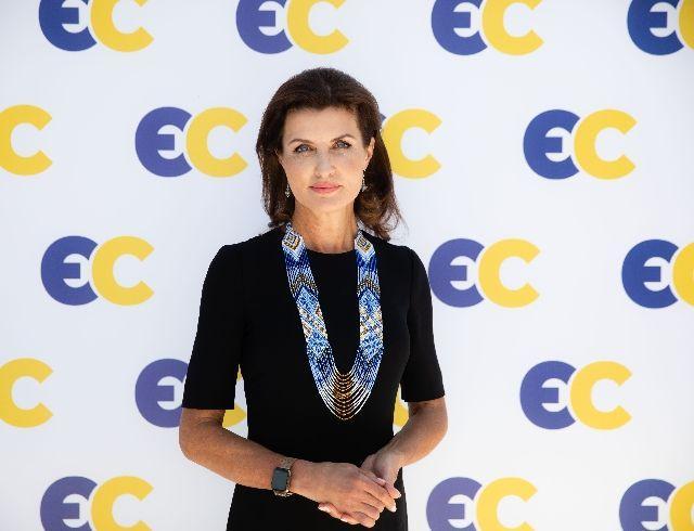 Марина Порошенко до сих пор носит ожерелье из освобожденного Славянска