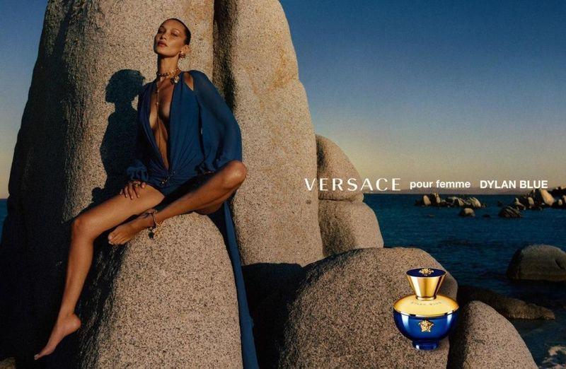 Две богини: Хейли Бибер и Белла Хадид в рекламной кампании Versace (ФОТО)