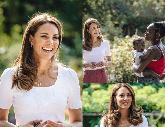 Кейт Миддлтон пообщалась с волонтерами в Баттерси-парке: фото и подробности нового выхода герцогини