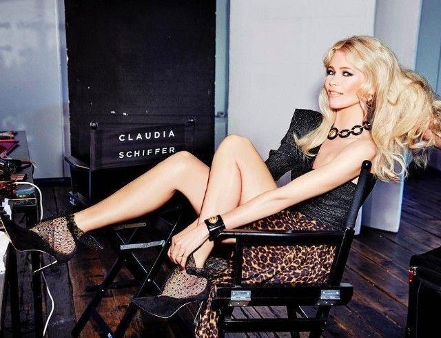 Клаудия Шиффер снялась у себя дома для британского издания Vogue (ФОТО)