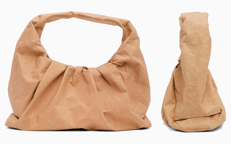 Экологичная сумка из бумаги